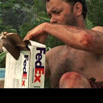 product placement cast away fedex